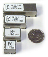 Custom RF Filter Surface Mount Packages